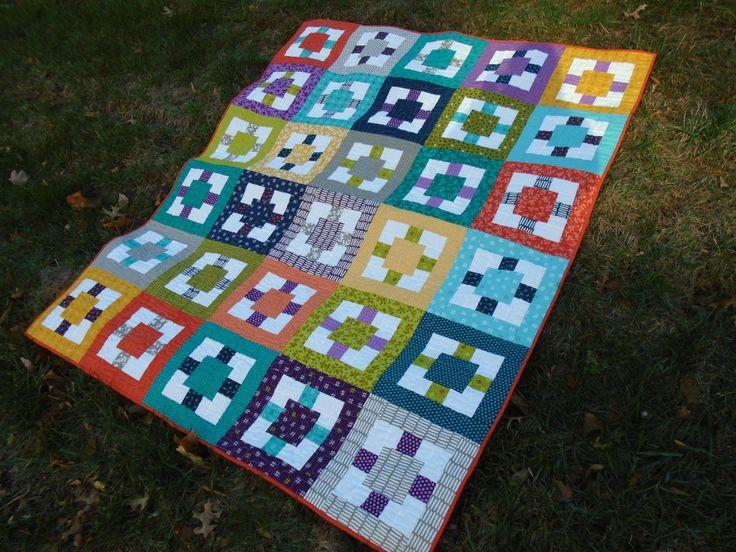1278 Best Images About Quilts Plain Blocks Squares And