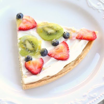 Another version of fruit pizza
