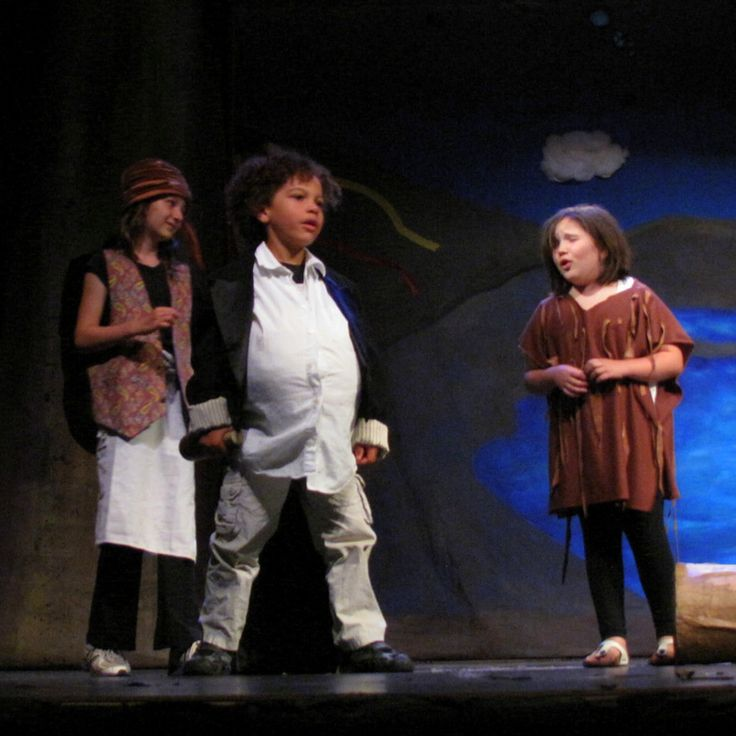 "L-R: #Trinculo, #Stephano, and #Caliban  ""Monster, I will kill this man."" -Summer Camp 2013 #TheTempest #Shakespeare #Kids #SummerCamp #Camp #Acting Camp #DramaCamp #Toronto #Kids #Children #Youth #Education"