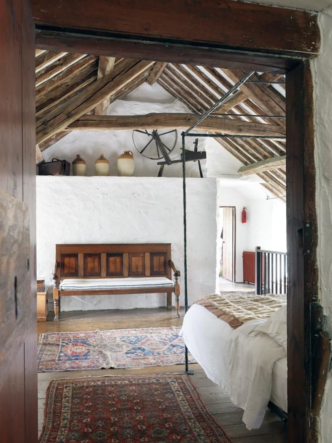 17 best images about rustic attic on pinterest nooks for Rustic farmhouse bedroom