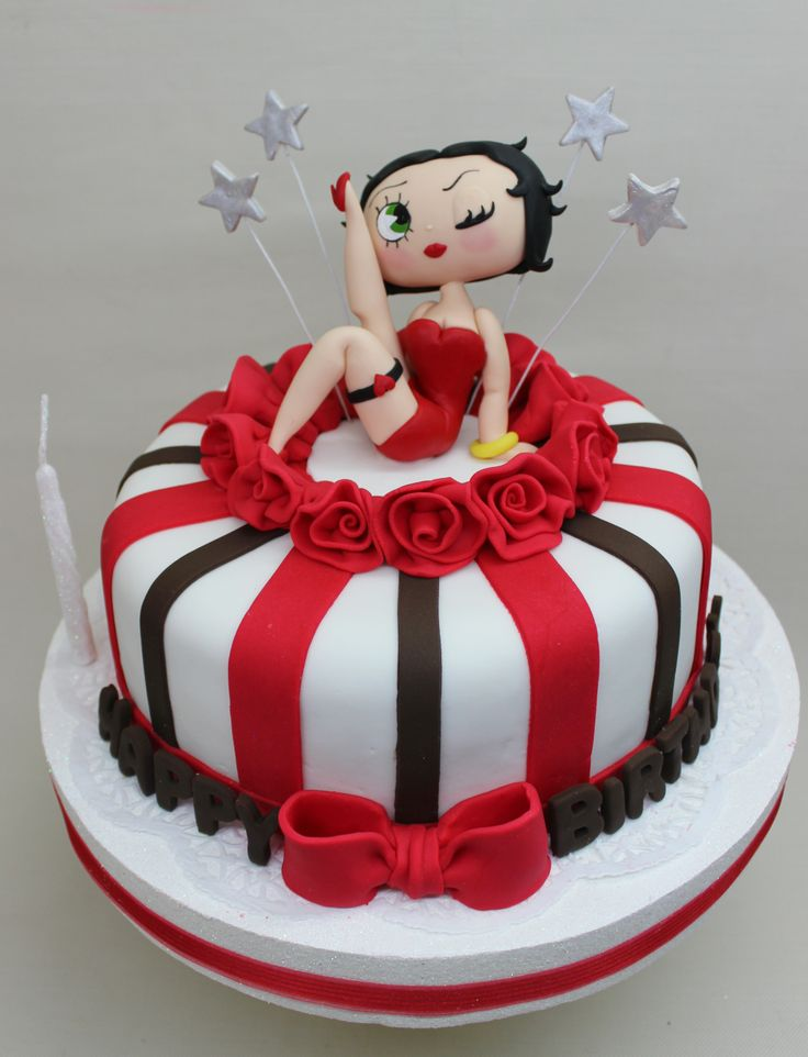 Betty Boop Cake by Violeta Glace