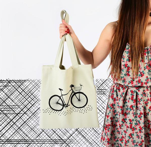 BICYCLE- TOTE BAG