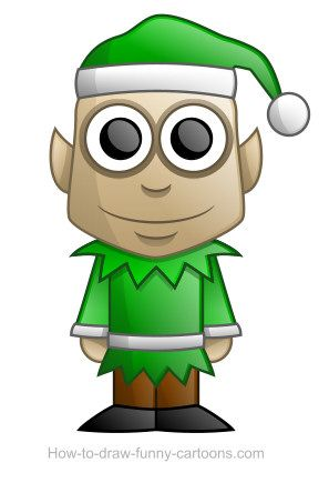 Cute elf ready for Christmas! :)