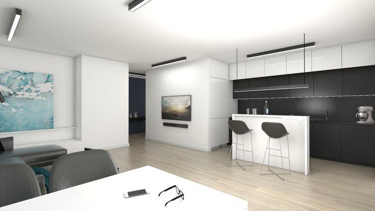 #atoato #projekt #wnętrz #salon #kuchnia #interior #design
