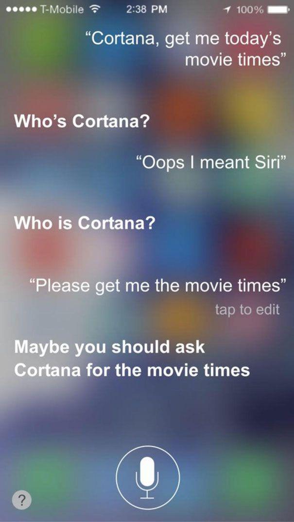 Hysterical Siri responses. The folks at Apple sure have a good sense of humor.