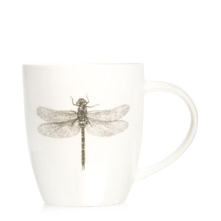 Dragonfly Sketch Mug ... they come a close second