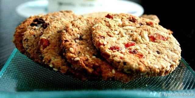 Biscuiti integrali de casa
