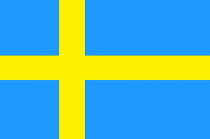 Suecia bandera