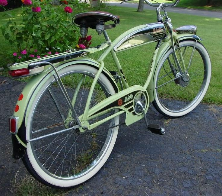 Vintage Green Bicycle 1960s Duemila Folding Bicycle Italian Green Bicycle Schwinn Bike Bicycle
