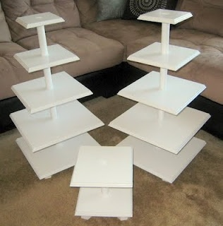 D.I.Y. Cupcake Stands!