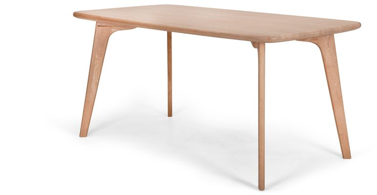Fjord Rectangle Dining Table, Oak