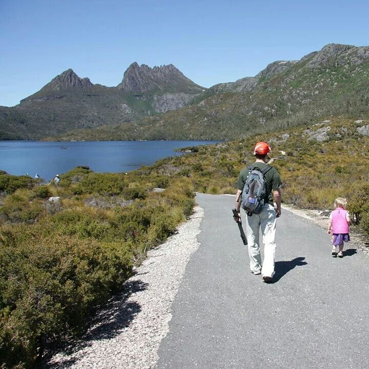 Beautiful Cradle Mtn NP in Tasmania. Grab a holiday pass to save entry fees to National Parks. #DiscoverTasmania #SeeAustralia