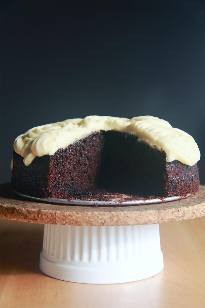 chocolate coconut milk cake
