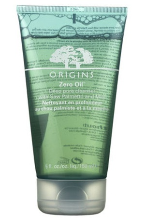 Origins Zero Oil Deep Pore Cleanser - very refreshing and helps with oil control!