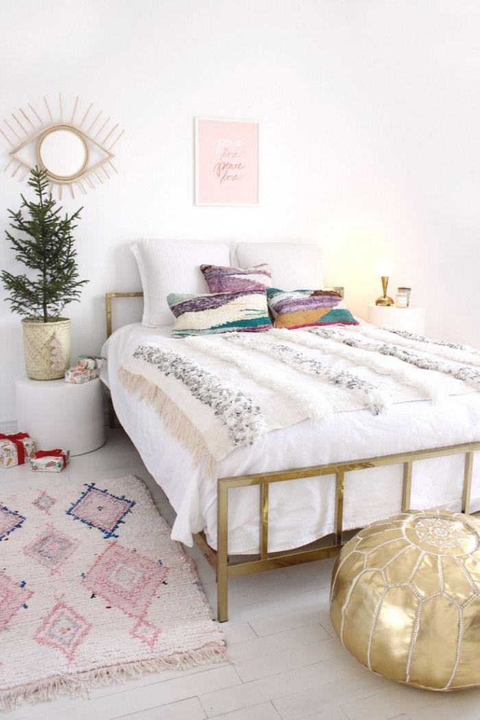 30 Modern Bohemian Bedroom Interior Design Ideas 10 In 2020 Modern Boho Bedroom Home Decor Bedroom Bedroom Interior