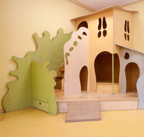 Spiellandschaft für Kindergarten Kindergartenentwurf