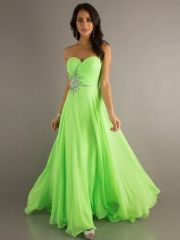 zelené společenské šaty na maturitní ples Paris - plesové šaty, svatební šaty, společenský salón
