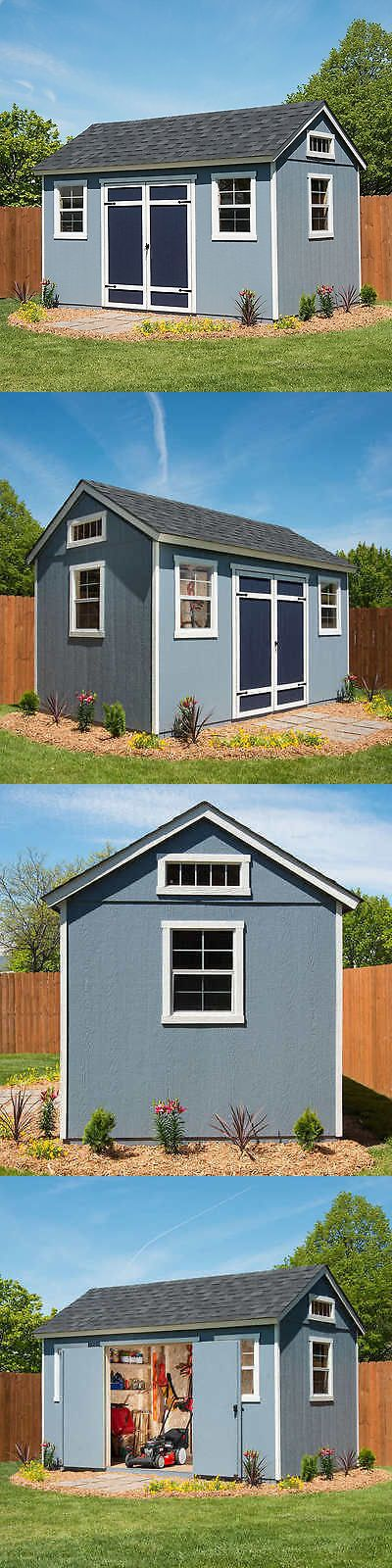 Garden and Storage Sheds 139956: Berkdale 14 X 8 Wood Shed 918 Cubic Feet, Floor Kit Included, No Tax -> BUY IT NOW ONLY: $1899.99 on eBay!