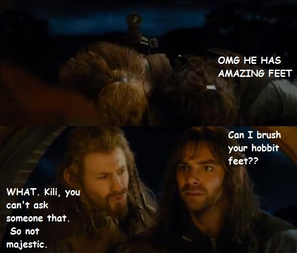 Hobbit Feet   Majestic Thorin (and company)   Pinterest