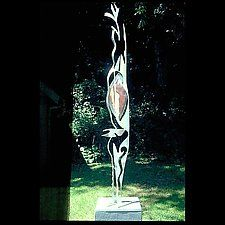 """Tango by Molly Mason (Metal Sculpture) (70"""" x 20"""")"""