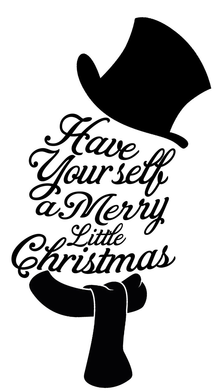 Download Free Merry Little Christmas SVG | Christmas svg files