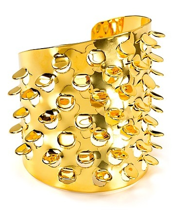 Alexis Bittar Large Gold Scaled Cuff - All Jewelry - Jewelry - Jewelry & Accessories - Bloomingdale's #aquarocks pair this cool cough with your blazer and sheer black and gold blouse for a little tough glamour!Cuffs 225, Bittar Large, Scales Cuffs, Gold Scales, Large Scales, Cuffs Bloomingdale'S, Accessorizing, Large Gold, Alexis Bittar