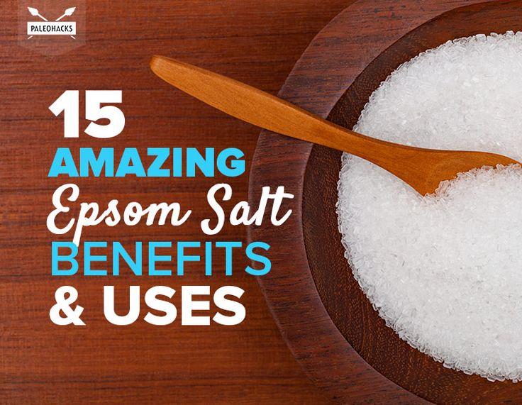 25 best ideas about benefits of epsom salt on pinterest for Epsom salt in french