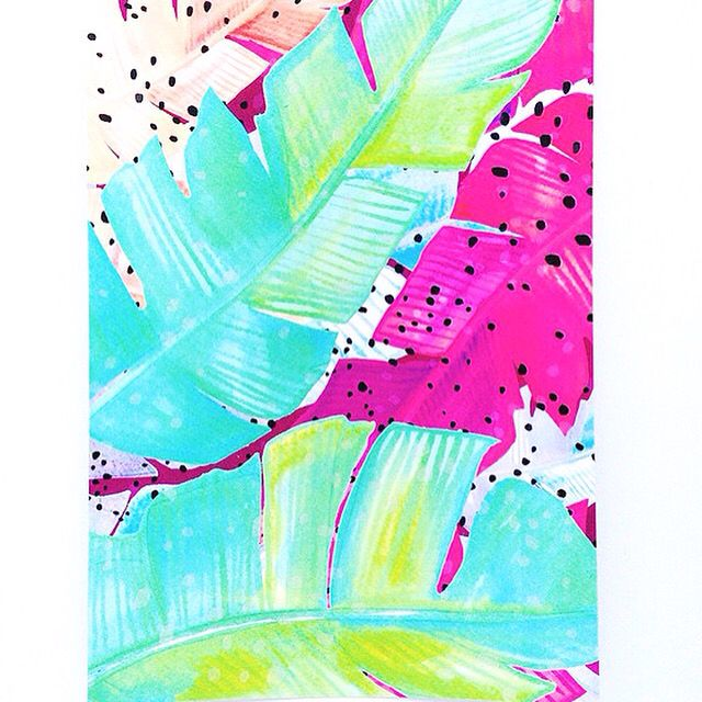 T R O P I C A L   Colour your space with fun prints this summer! SHOP   www.daisychainstore.com.au  A4 $30.00 • A3 $40.00 FREE TOTE BAG WITH EVERY PURCHASE