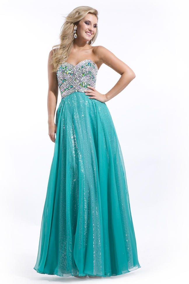 Teal Dress, LOVE IT! | Prom 2015 | Pinterest | Prom dresses, Teal ...