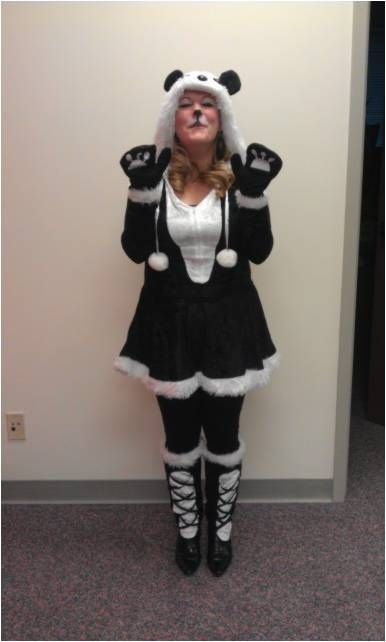 17 best images about rsw us halloween costume contest 2013 on pinterest bang bang toms and a - Panda team leader costume ...