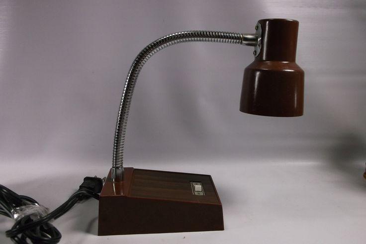 Retro Working Brown Desk Lamp.epsteam