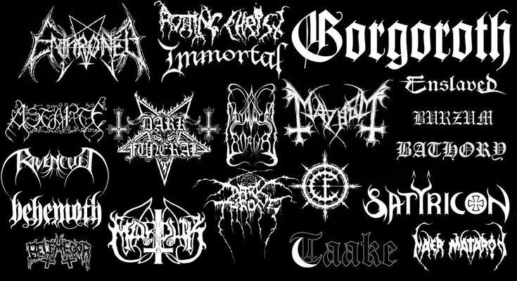 Black Metal Venom   Black Metal Chart - Picture