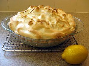 Passover Lemon Meringue Pie