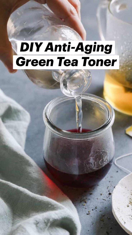 Beauty Care, Diy Beauty, Herbal Remedies, Natural Remedies, Natural Skin Care, Natural Health, Green Tea Toner, Aging Backwards, Body Hacks