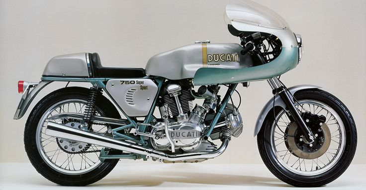 Distribuzione Desmodromica: Ducati 750 Supersport Desmo - News & Stories at STYLEPARK