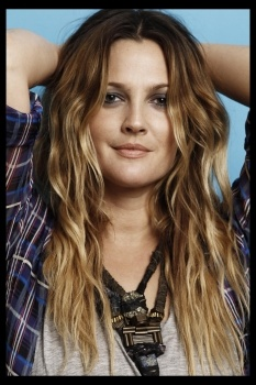 Drew Barrymore. I love her style.
