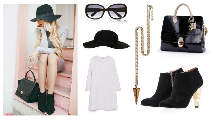 Keep it simple! :)   Handbag - Clara-Veritas Dress - ZARA Shoes - Mohito Neckless - Mohito Hat - Topshop Sunglasses - Marc Jacobs Intl