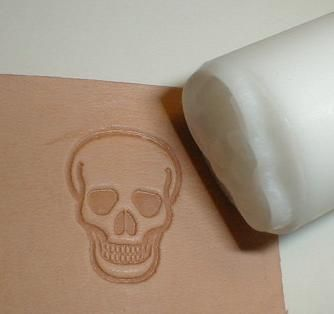 leather stamp-web site to buy. concept seems simple get/make a stamp and hit it into the leather with a hammer.