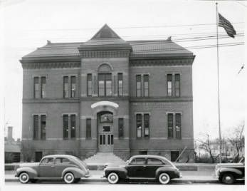 1941 Old Emily Griffith Opportunity School located in Denver, Colorado. Date1941 January:: Creating Your Community - Denver Public Library