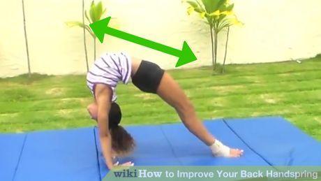 Image titled Improve Your Back Handspring Step 1