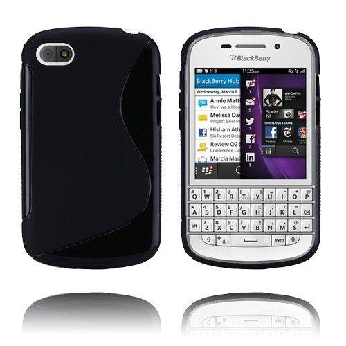 S-line (Sort) BlackBerry Q10 Deksel