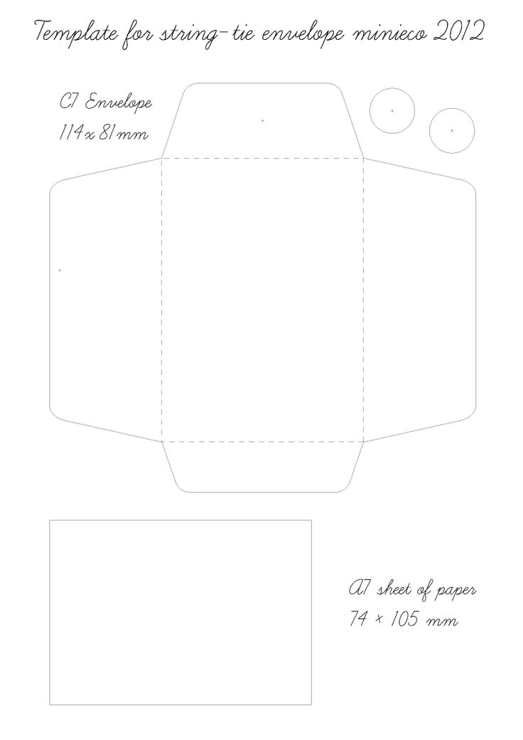 string tie envelope template 07 crafts pinterest envelopes templates and envelope templates. Black Bedroom Furniture Sets. Home Design Ideas