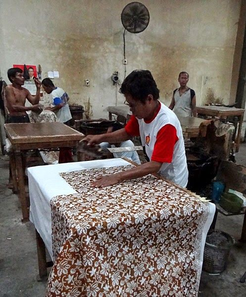 J'avoue j'en ai rêvé, pas vous?: Batik Cap