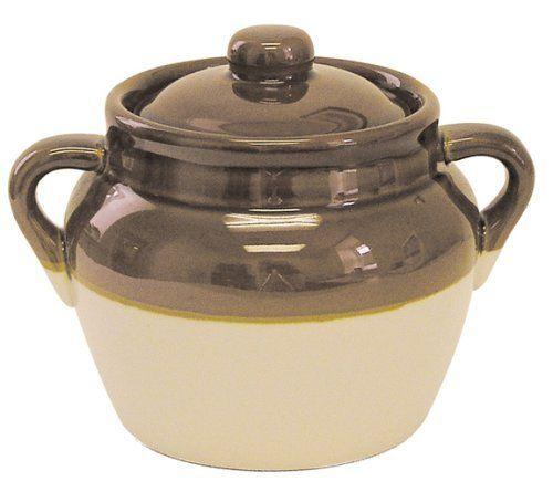 R Amp M International 1 5 Quart Medium Cermaic Bean Pot
