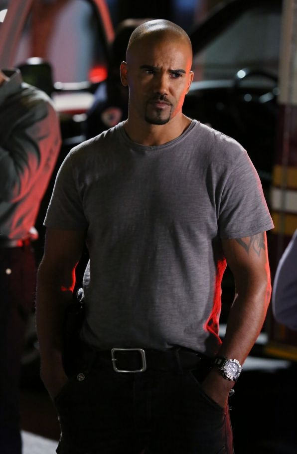 On The Scene You don't want to get that look from Derek Morgan.