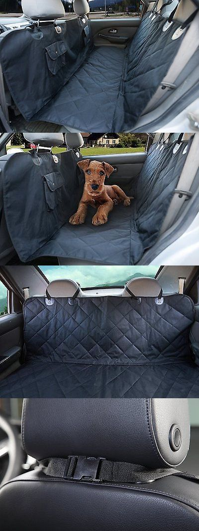 Car Seat Covers 117426: Bucket Dog Car Seat Cover Pets Waterproof Hammock Convertible Bench Seat Cover -> BUY IT NOW ONLY: $67.74 on eBay!