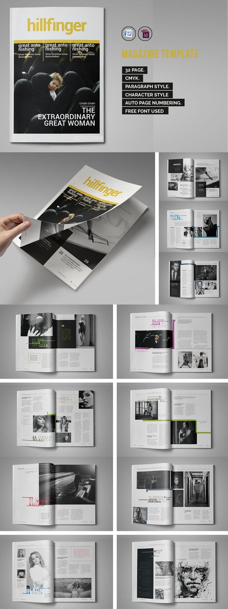 Magazine Design From Iwanraj