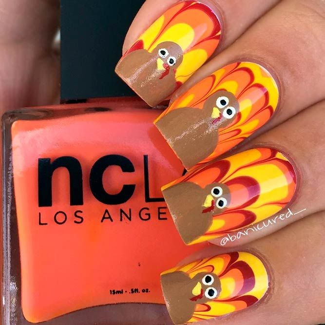 Best 25 thanksgiving nail designs ideas on pinterest 27 creative thanksgiving nails designs that will inspire you all through the fall solutioingenieria Image collections