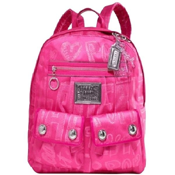 coach on sale outlet e5lh  coach pink backpack