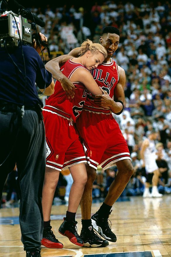 Michelle Beadle as Michael Jordan